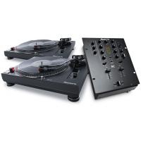 DJ SET 2x TT250USB a M2 Black